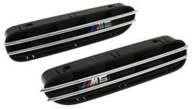 BMW E39 жабры в крылья
