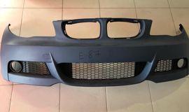 BMW E87 передний бампер М