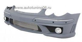 MERCEDES-BENZ W209 бампер передний 6.3 AMG
